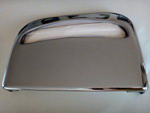 Zásobník na WC sedátka CHROM